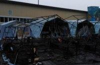 Під час пожежі в наметовому містечку в Росії загинуло четверо дітей (оновлено)
