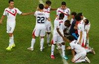 Коста-Рика покидает ЧМ непобежденной