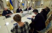 Зеленський обговорив блокування каналів Медведчука з послами країн G7 та ЄС
