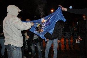 В ПР считают непатриотичным сжигание их флага