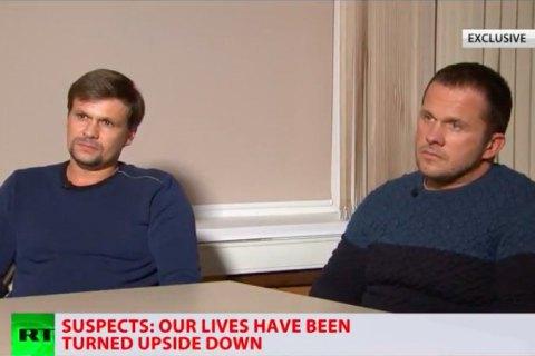 Підозрювані в отруєнні Скрипалів заявили, що їздили в Солсбері як туристи і провели там лише годину