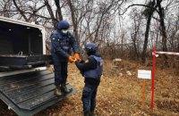 На Донбассе за неделю изъяли и уничтожили более 700 боеприпасов