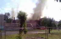 Рятувальники загасили пожежу в запорізькій школі (оновлено)