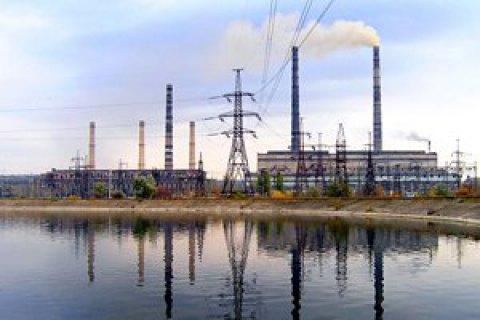 СлавянскаяТС остановлена из-за недостатка антрацитового угля