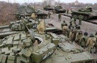 Російські найманці розмістили важку техніку поблизу лінії зіткнення на сході України