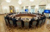 Перше засідання РНБО за Зеленського буде присвячене ситуації на Донбасі