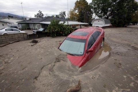 В Калифорнии пожары сменились наводнениями