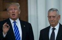 Трамп не виключив можливості відставки глави Пентагону