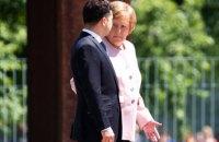 Зеленський і Меркель провели четверту за останні місяці телефонну розмову (оновлено)
