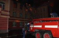В Одесской области из-за удара молнии загорелась школа