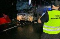 Дев'ять людей загинули внаслідок ДТП у Польщі