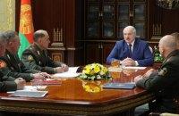 Лукашенко назвав Україну загрозою для Білорусі