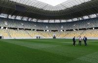 Сборная Украины сыграет домашние матчи Евро-2020 на полуискусственном газоне