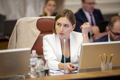Міністр освіти Новосад поскаржилася, що на 36 тис. гривень не зможе утримувати дитину, якої в неї поки що немає