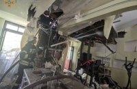 У центрі Києва на Липинського сталась пожежа в п'ятиповерхівці