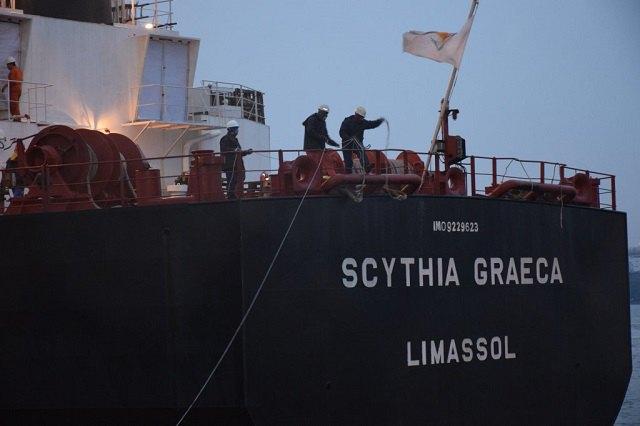 ВЧерноморском порту отгружают уголь, доставленный в государство Украину изЮАР