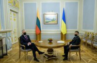 Зеленский и Науседа подписали Совместную декларацию по европейской перспективе Украины