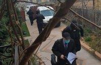 ГБР пришло с обыском к Татьяне Чорновол по делу о поджоге офиса Партии регионов в 2014 году