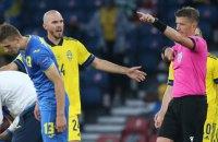 Гравець збірної Швеції попросив пробачення в Бєсєдіна за травму