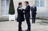 Офіс президента офіційно анонсував поїздку Зеленського у Францію 16 квітня