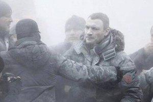 Кличко впустили к Януковичу в Межигорье