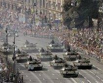 В Днепропетровской области пройдут военные парады ко Дню Победы