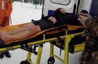 В Днепре во время ныряния в прорубь мужчина сломал ногу