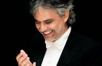 В Киеве выступит известный оперный тенор Андреа Бочелли