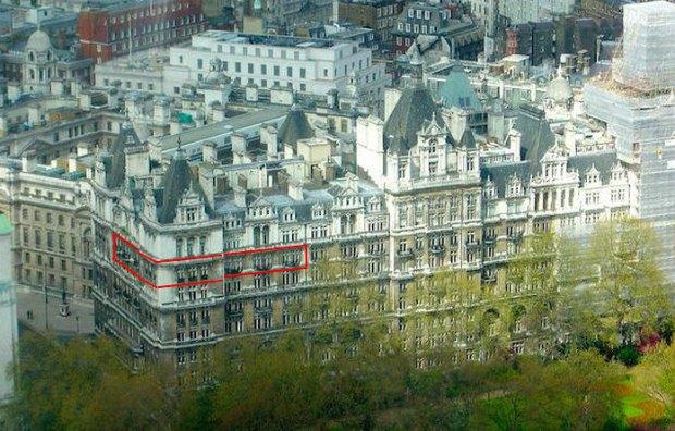 Квартира Ігоря Шувалова у Лондоні