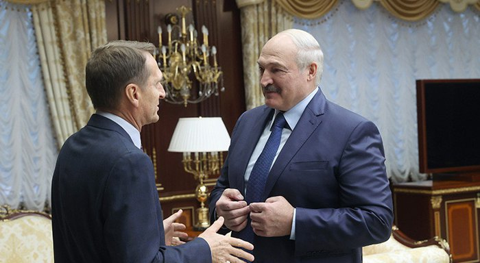 Сергей Нарышкин летал в Минск на встречу с Лукашенко в конце октября