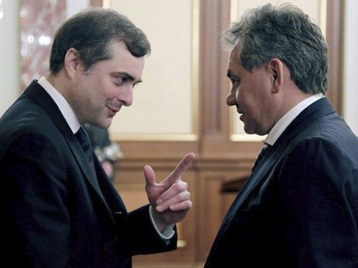 Владислав Сурков и Сергей Шойгу