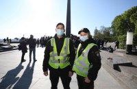 За порядком 9 травня в Україні стежать 12,5 тис. правоохоронців