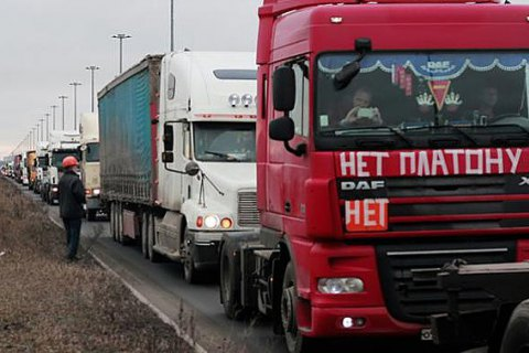В Петербурге задержали лидера протестующих дальнобойщиков