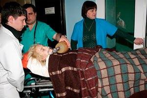 Оксана Макар до сих пор не может дышать самостоятельно