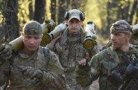 Боевики совершили 15 обстрелов на Донбассе в субботу, один боец ВСУ ранен