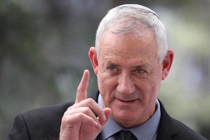 Бенни Ганц, бывший начальник штаба израильской армии и лидер 'Бело-голубых'