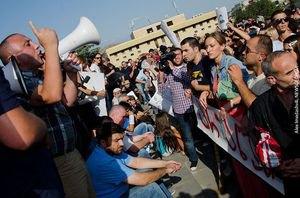 У Грузії відбулася багатотисячна акція протесту студентів