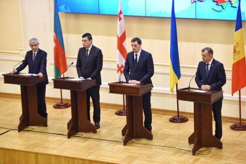 Олексій Гончарук обговорив із Прем'єр-міністром Грузії розвиток транспортного коридору Балтійське-Чорне-Каспійське море