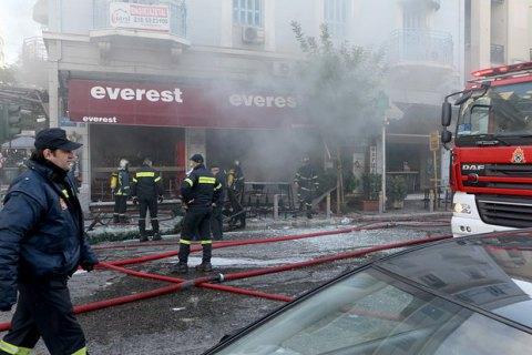 В центре Афин прогремел взрыв, есть жертвы