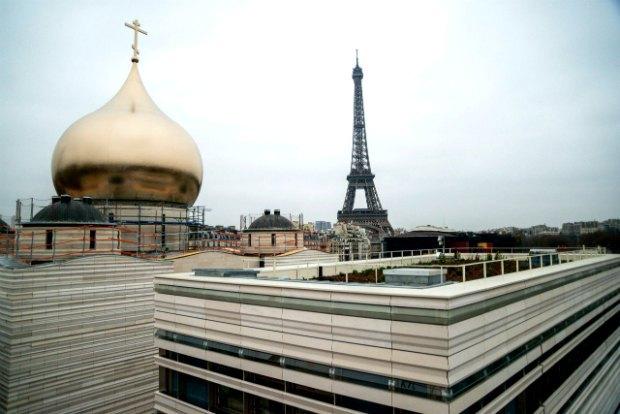 Собор РПЦ на Набережной Бранли в Париже