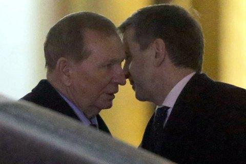 ТКГ у Мінську готує зняття економічної блокади ОРДЛО за пропозицією Кучми і Зеленського