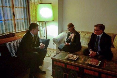 Тимошенко обсудила с главой ОБСЕ ситуацию на Донбассе