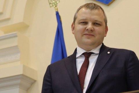 """Представник """"Слуги народу"""" Микола Лукашук очолив Дніпропетровську облраду"""