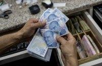Турецька ліра просіла на 15% після свавільного звільнення Ердоганом голови центробанку