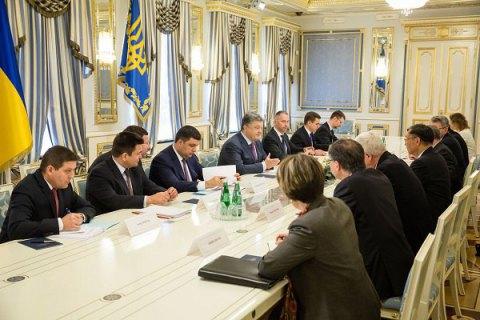 Порошенко закликав G7 продовжити санкції проти Росії