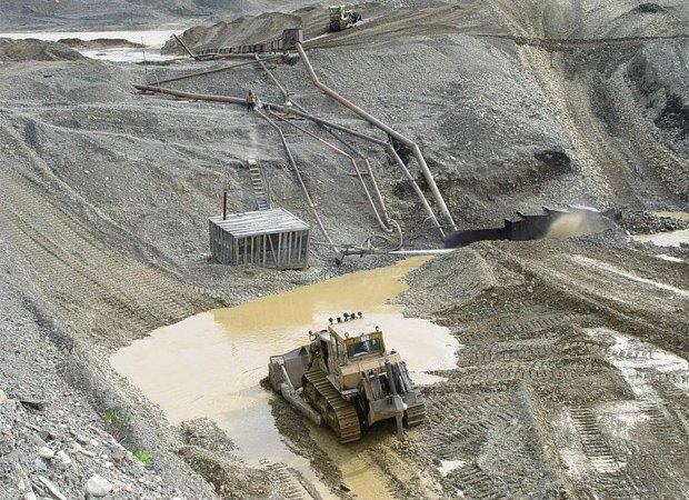 Добыча золота на Чукотке