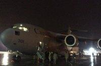 Украина получила первую военную помощь от Канады