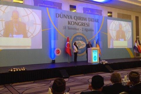 У Туреччині розпочався Другий всесвітній конгрес кримських татар