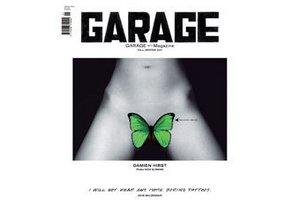 Британцы запретили обложку журнала Дарьи Жуковой с татуировкой Херста