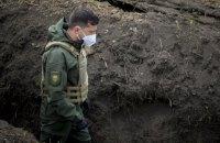 Зеленський прибув на Донеччину, планує відвідати передову
